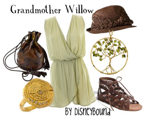 Grandmother Willow - beautiful casual outfit! I can see this being an especially good look for Autumn/Fall with a nice jacket :)