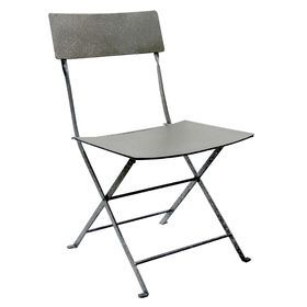 Picture of Silver Steel Folding Slat Chair