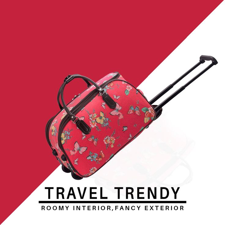 Travelling for the weekend? You know you need a trendy and bold bag! 💗