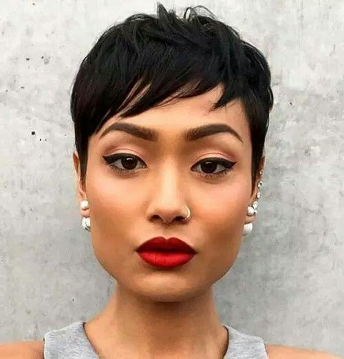 25 Best Ideas about Black Pixie Haircut on Pinterest
