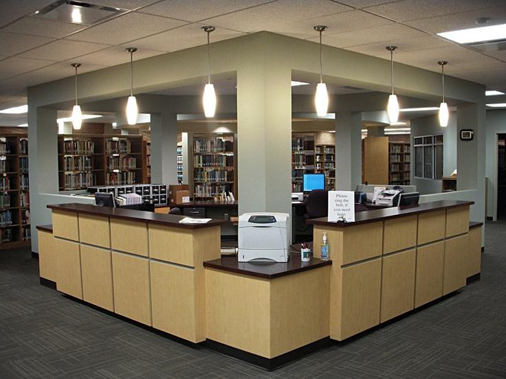 circulation desk leigh library renovation jefferson davis community college brewton al - Library Circulation Desk Design