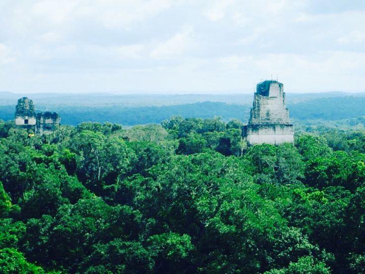 The majestic Tikal!!! #amazing