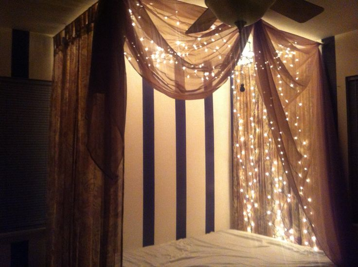 Homemade canopy