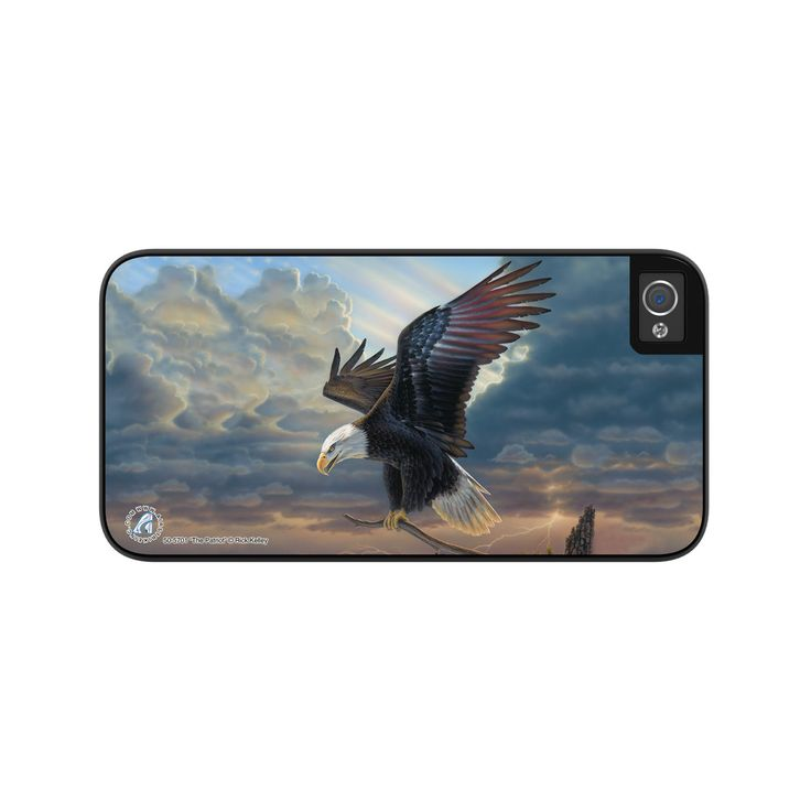"""Airstrike® Eagle iPhone 5 Case, Eagle iPhone 5s Case, American Flag Eagle Wing iPhone Case Protective Eagle Phone Case """"The Patriot"""" 50-5701"""