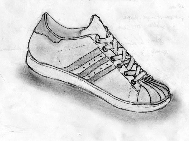 Dessin d\u0027observation  chaussures , Intellego.fr