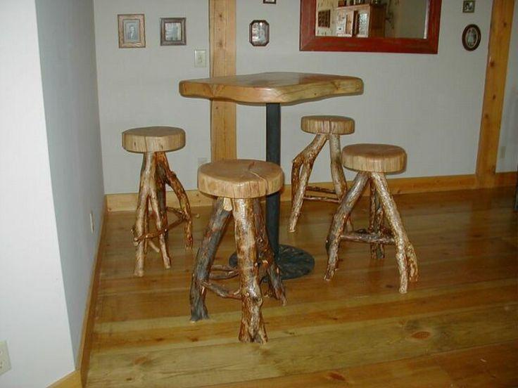 Log Furniture | Rustic Log Furniture   Rustic Log Bar Stools Barstools    Rustic Log .