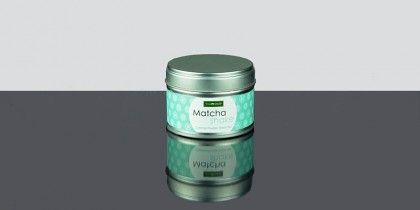 Matcha Shake Caramel, Té verde molido con aroma de caramelo lleno de antioxidantes, ideal para repostería