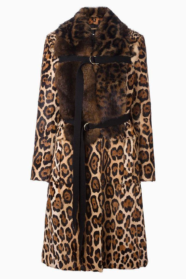 Вещь дня: леопардовая шуба Givenchy