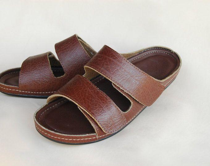 95257d938bc Greek Men Leather Sandals, summer men shoes, men flats | Sandals ...