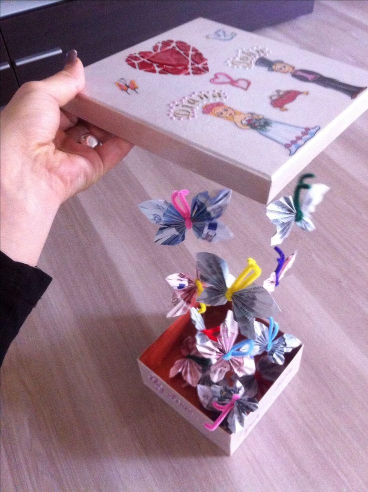 die 25 besten geld falten hochzeit ideen auf pinterest geldschein origami geldgeschenke und. Black Bedroom Furniture Sets. Home Design Ideas