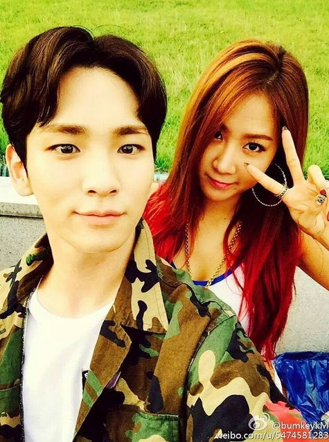 Shinee's Key with SISTAR's Soyou