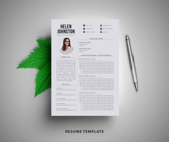 77 best resume \ folio inspiration images on Pinterest Resume cv - resume templates for educators