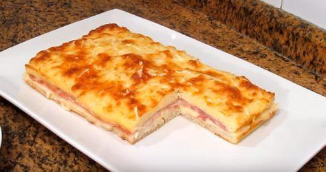 Este pastel de jamón york y queso te hará la boca agua - Hacer Juntos