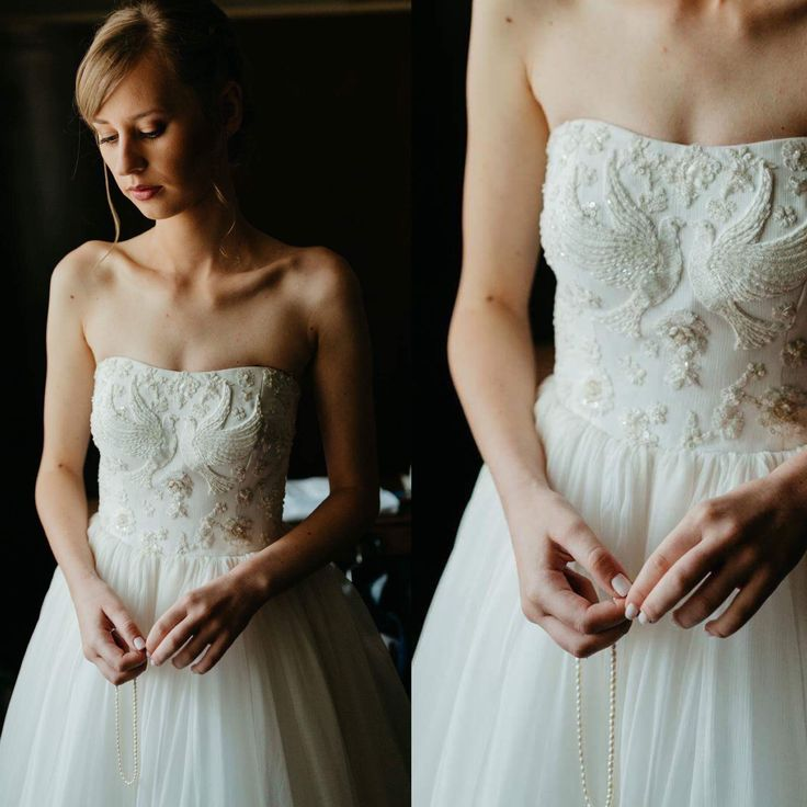 Wedding dress by Ligia Mocan