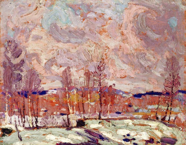 The Athenaeum - Spring Flood (Tom Thomson - )