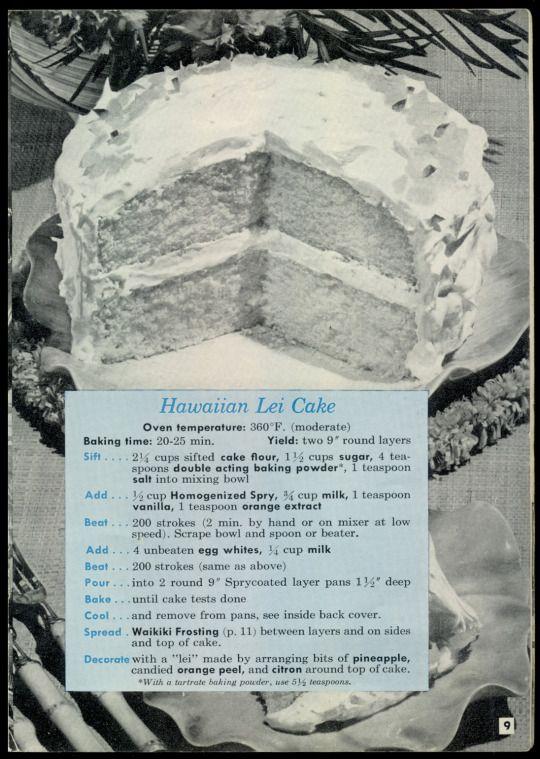 10 Cakes Husbands Like Best, From Spry's Recipe Round-up - Hawaiian Lei Cake http://www.amazon.com/gp/product/B000CQZAYS/ref=cm_sw_r_tw_myi?m=A3FJDCC1SFO8CE