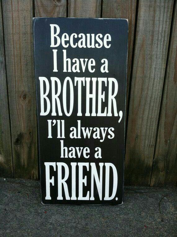 I love my brothers. Zane and Darren xx
