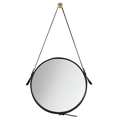 Kids Mirrors: Leather Buckle Strap Mirror