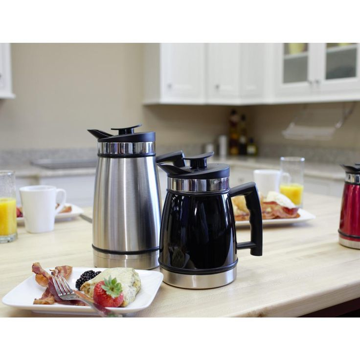 Planetary Design 12 Cup French Press In Stainless Steel Products