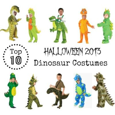"""Don't worry, I will not be doing """"Top 10″ lists for every Halloween costume around, but my little guy has requested a dinosaur costume this year. As I looked, I decided that perha..."""