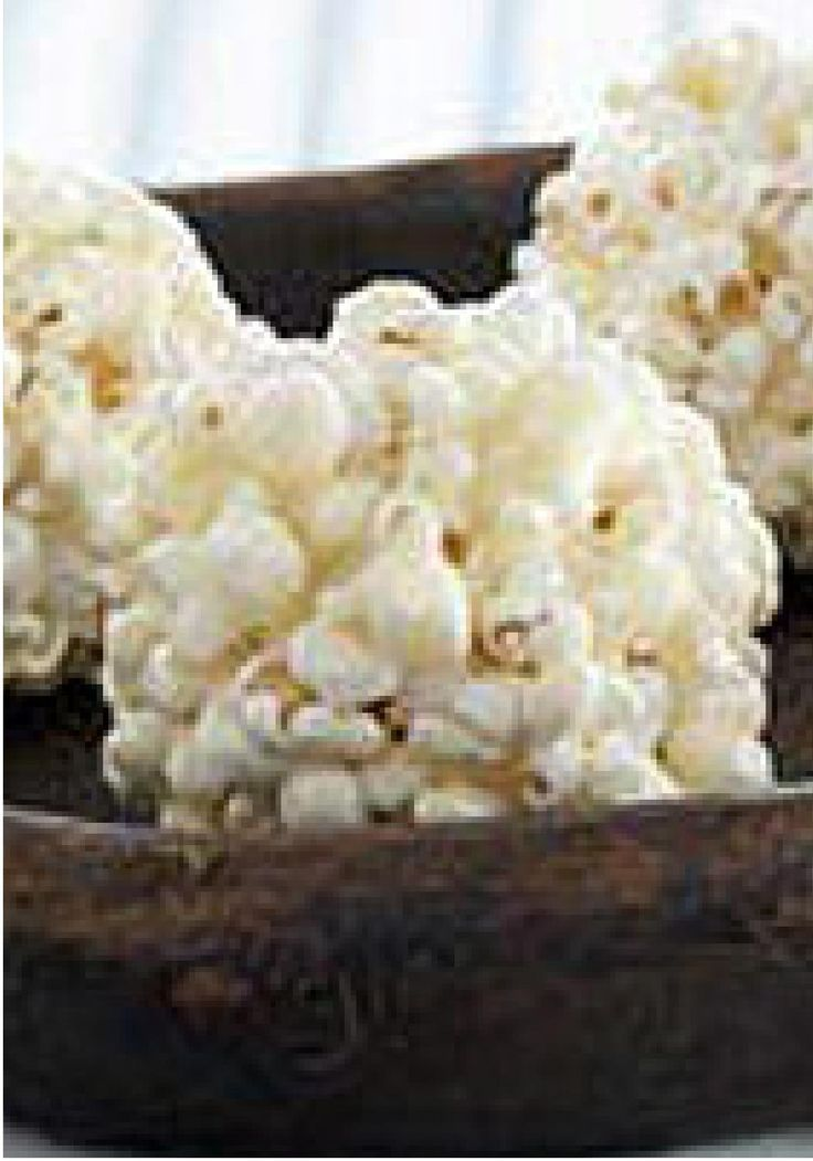 Mallow Popcorn Balls -- Popcorn is coated with a gooey marshmallow mixture and formed into balls for yummy desserts kids love to make and eat.