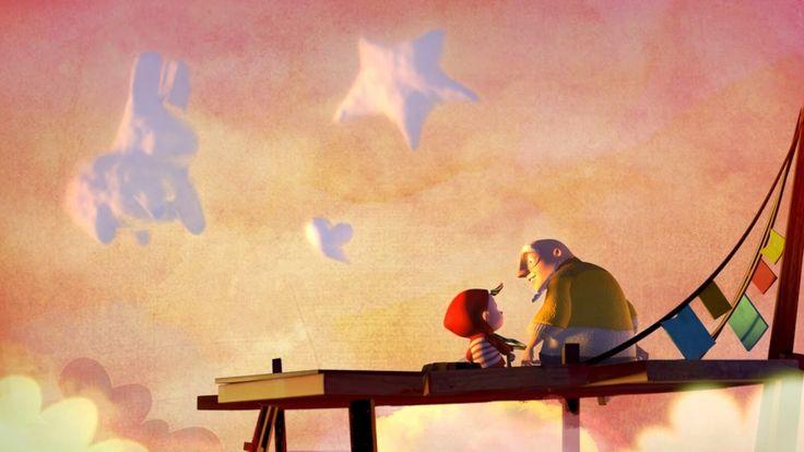 """""""A cloudy lesson"""" es un corto maravilloso que nos enseñará la necesidad de dar iniciativa a los niños para que nos descubran de lo que son capaces..."""