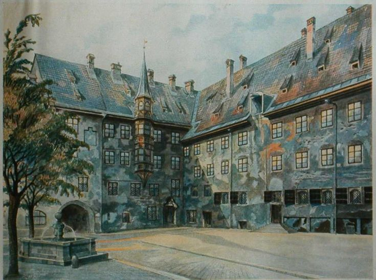 Adolf Hitler Early Life | Paintings by Adolf Hitlor and facts about Adolf Hitler life ...