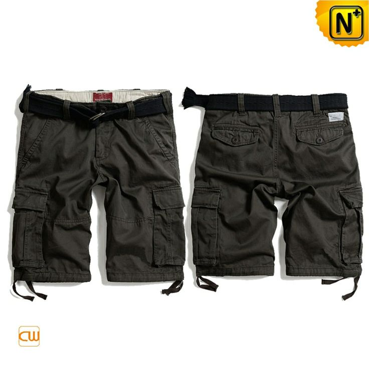 Summer Cargo Shorts for Men CW140177 Our cool casual summer cargo shorts for men are great for whiling away sunny days in comfort, great look 100% cotton cargo shorts are a menswear essential for the summer!