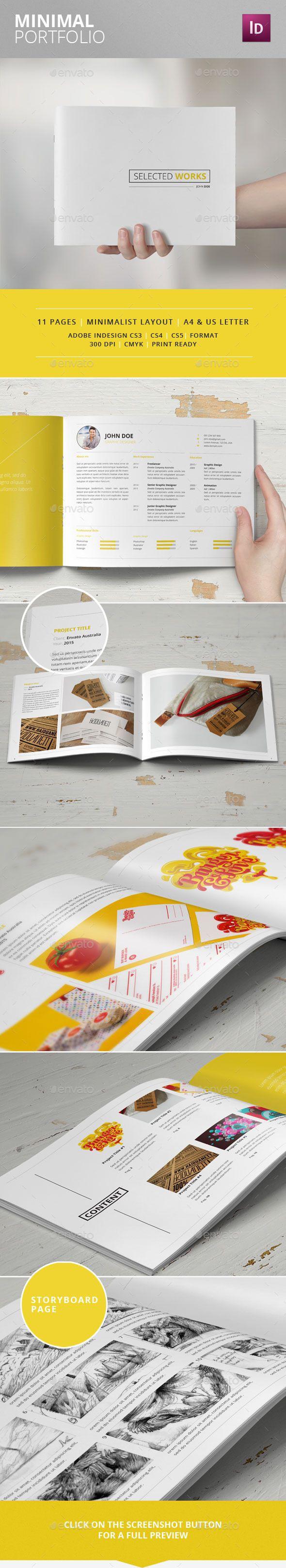 Minimal Portfolio - Portfolio Brochures