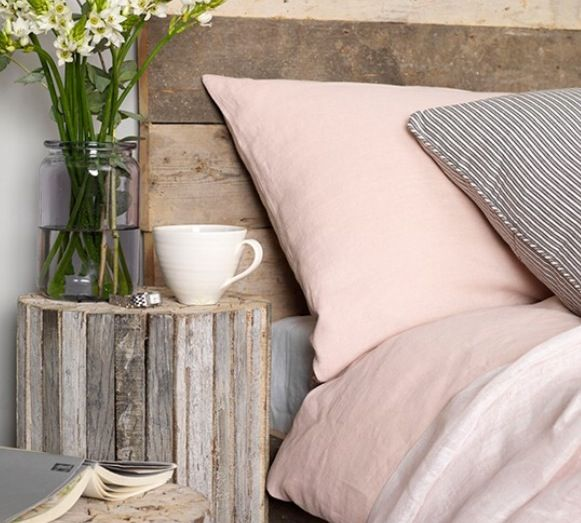 Blush and rustic