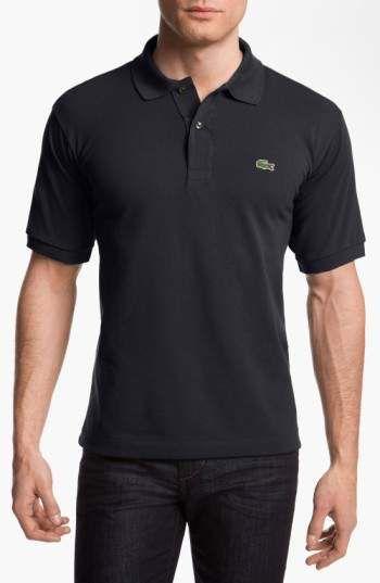 Lacoste 'L1212' Pique Polo Short #mensfashion #menswear #lacoste #poloshirt #shirts