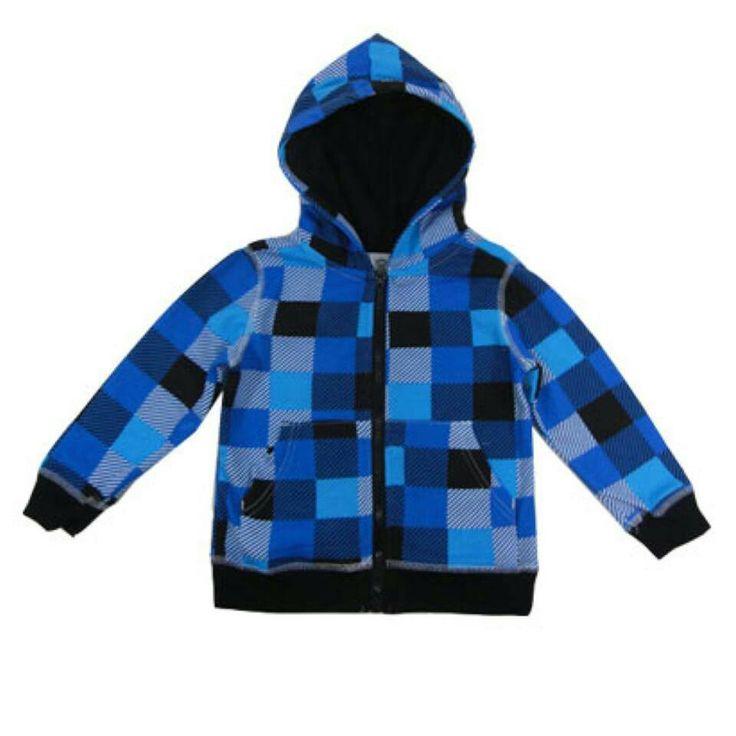 Checkered hoodie  willowandme.biz
