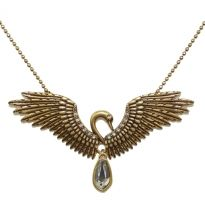 Swan Necklace Bronze - A & C