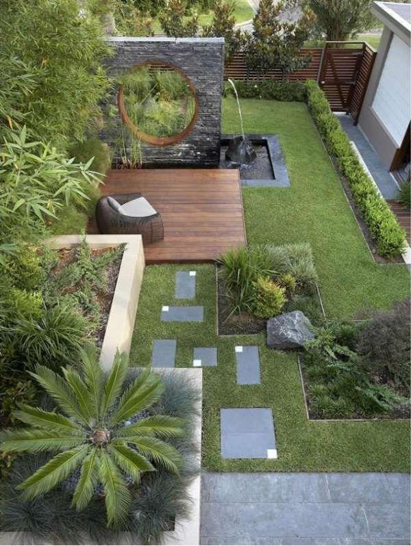 16 designs de jardins modernes qui vont vous inspirer