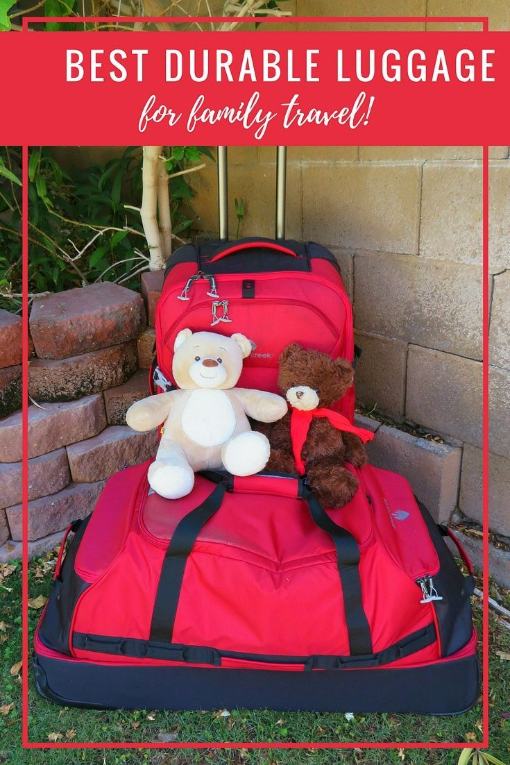Best Durable Luggage for Family Travel ~ Eagle Creek Expanse Review