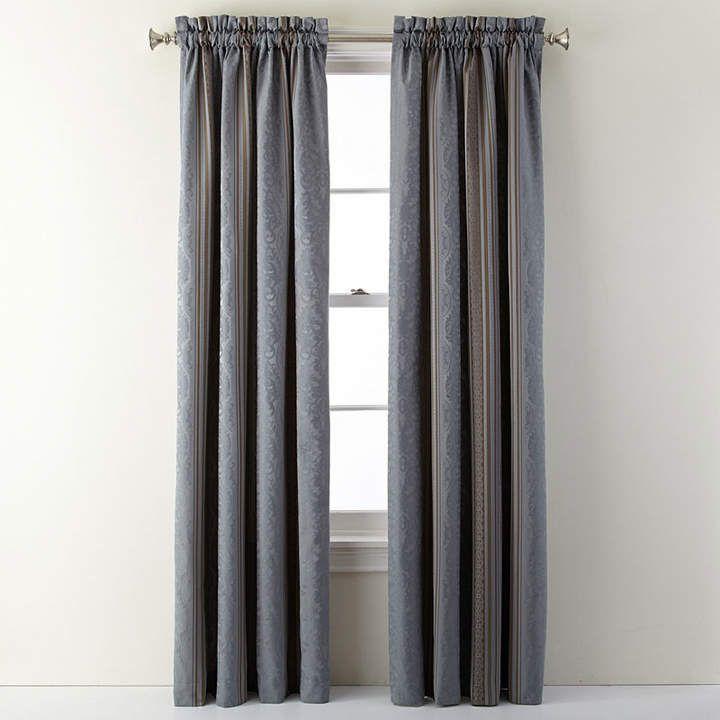 Royal Velvet Royal Velvet Carissa Rod Pocket Curtain Panel