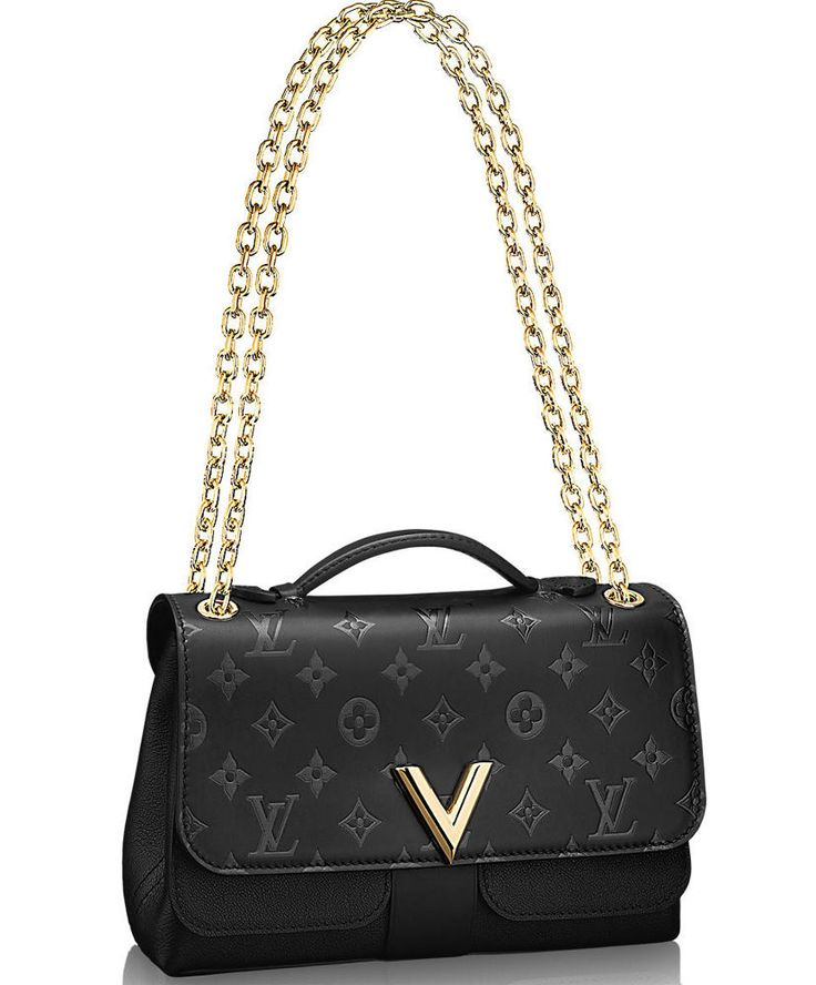 Louis Vuitton Very Chain Bag M42899 Black. Keep Fashion With New LV Handbags