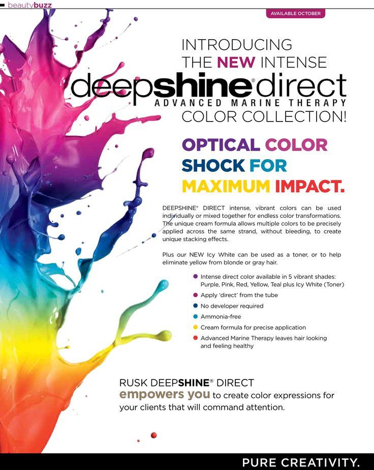 rusk deepshine direct color my brands