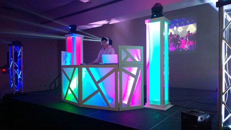 Dj Booth & Glow Towers Setup #JaySe7enEvents                              …                                                                                                                                                     More