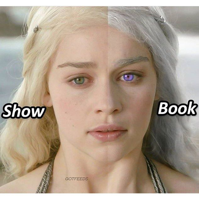 """6,185 Likes, 201 Comments - Game of Thrones (@gameofthronespost) on Instagram: """"Show Dany or Book Dany? #gameofthronespost #gameofthrones #hbo #daenerystargaryen"""""""
