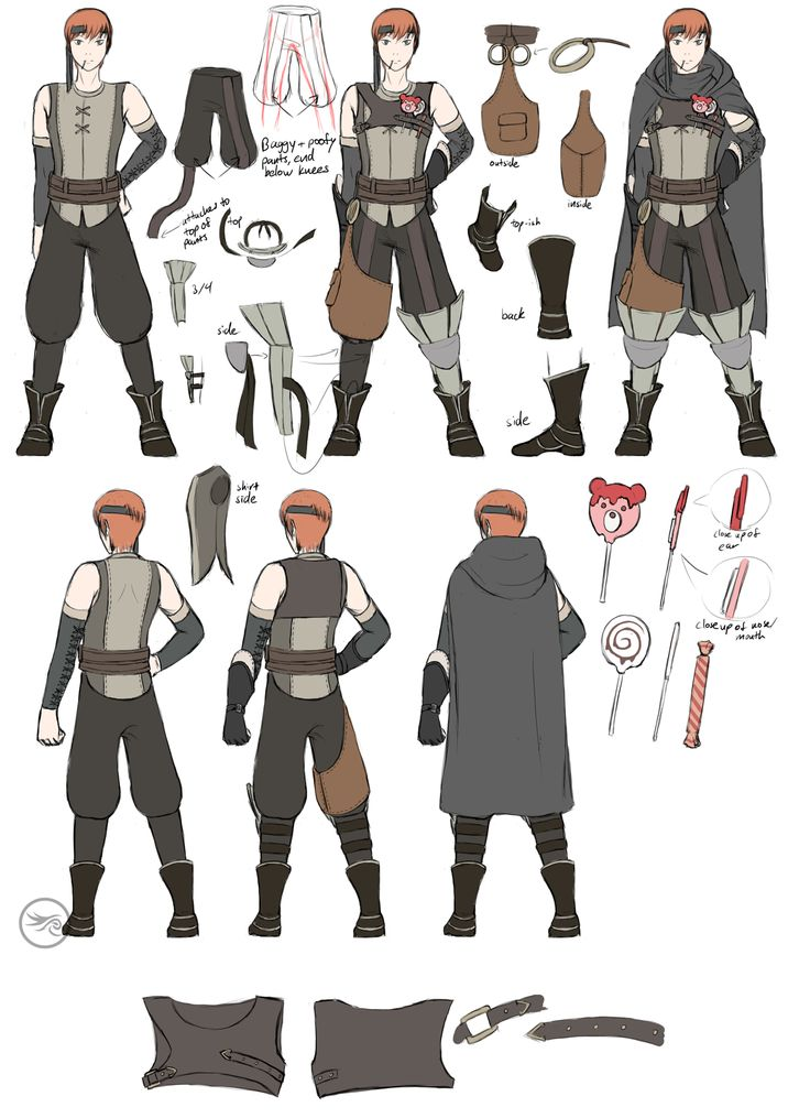 OH MY GOD GAIUS YOUR CONCEPT ART EVEN INCLUDES THE CANDY IN YOUR POCKETSS