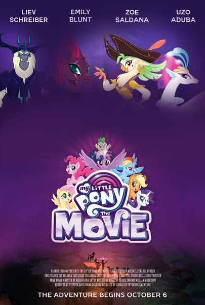 My Little Pony movie...my Inner-Fan-Girl is screaming at the top of its lungs... :O