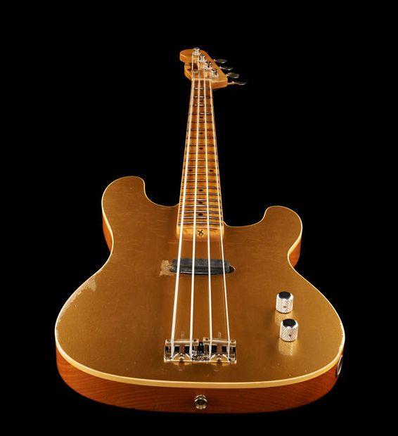 Fender LTD Gold Top Dusty Hill P-Bass, 4 string bass guitar, Custom Shop....K