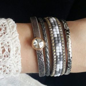 bracelet fantaisie tendance  #braceletmanchette