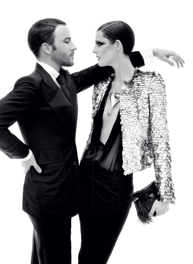 Tom Ford or the model? Which look is sexier? #LBAgency