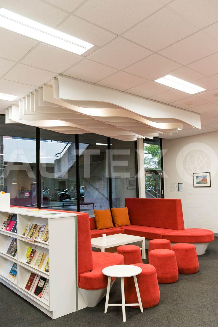 Autex Interior Acoustics - Quietspace® Frontier™ - Talus - Colour: Pavilion - Methodist Ladies College, VIC, Australia - Acoustics in Education