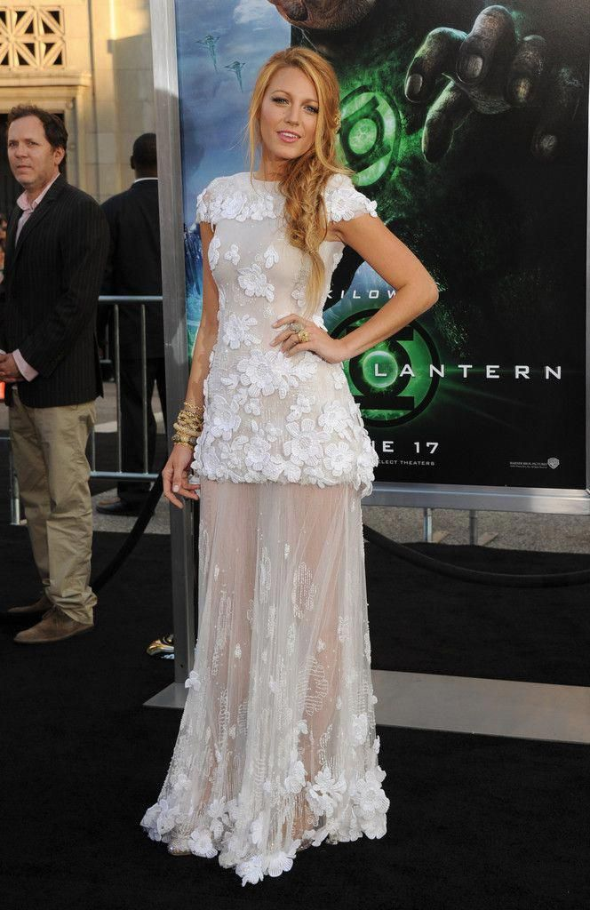 Blake Lively Photos Premiere Of Warner Bros. Pictures