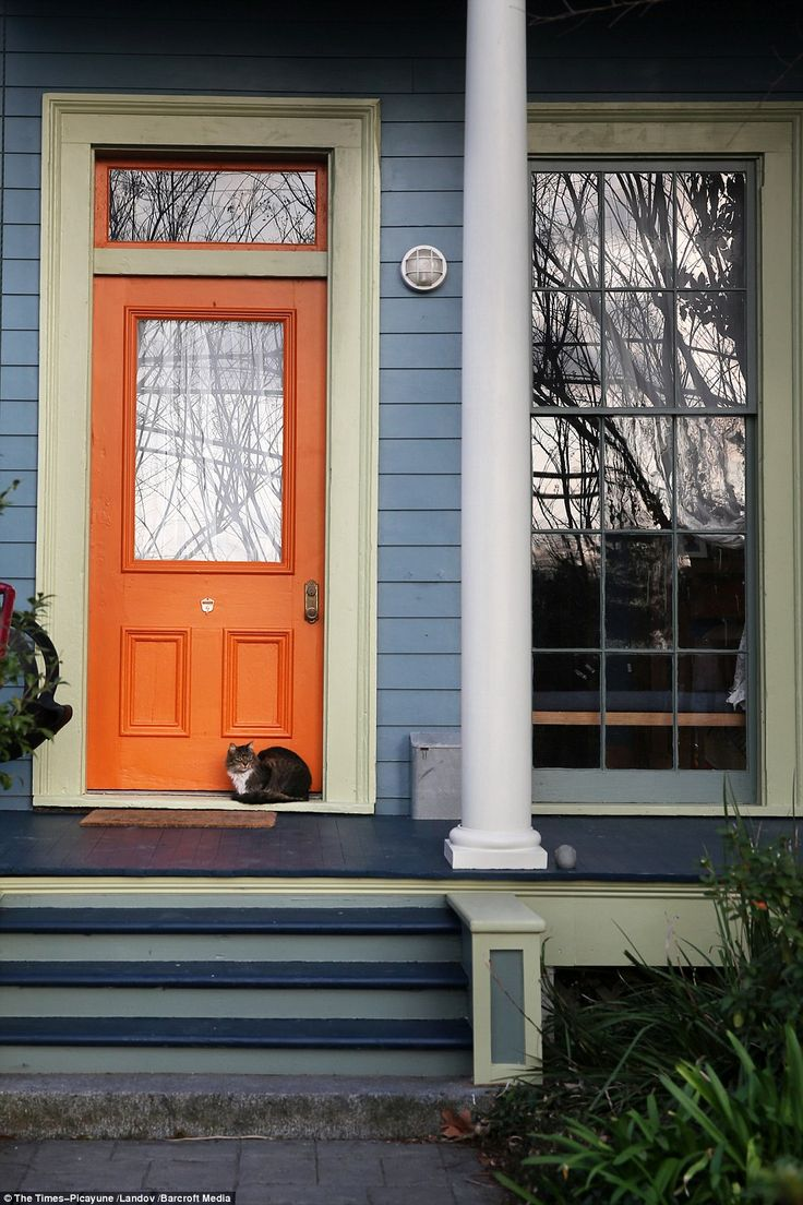 17 Best Ideas About Orange Front Doors On Pinterest