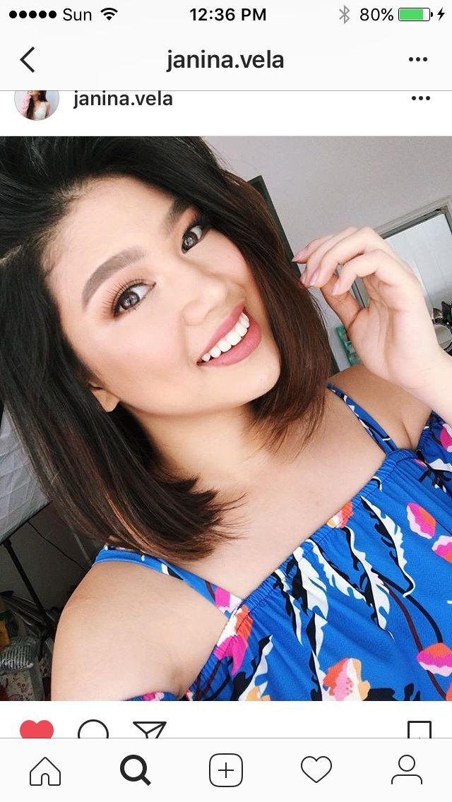 Janina Vela Hair styles, Hair makeup, Fashion