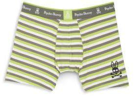 Striped Knit Boxer Briefs